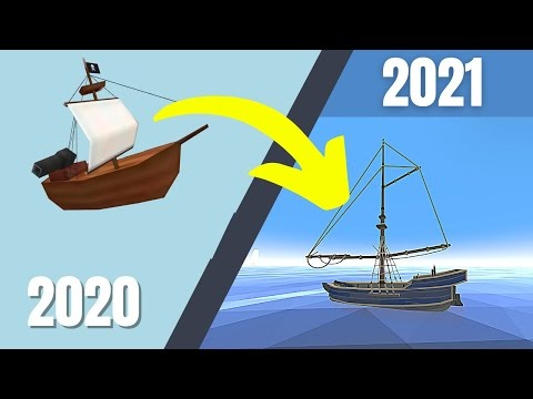 One year of working on my Virtual Reality game SAIL (Sail VR Dev Log)