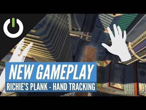 Hand Tracking in Richie's Plank Experience - Oculus Quest Beta (Toast VR)