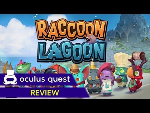 Raccoon Lagoon Review   Oculus Quest