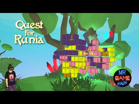 Quest for Runia - First 30 levels - VR