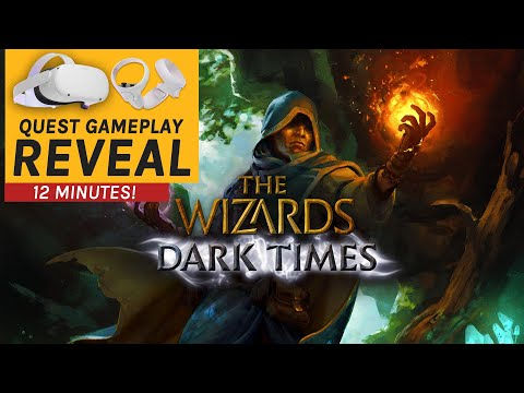 The Wizards: Dark Times Quest 2 Gameplay Reveal - Winter Wrap-Up