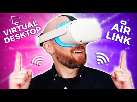 Oculus Air Link Vs Virtual Desktop - Oculus Quest 2