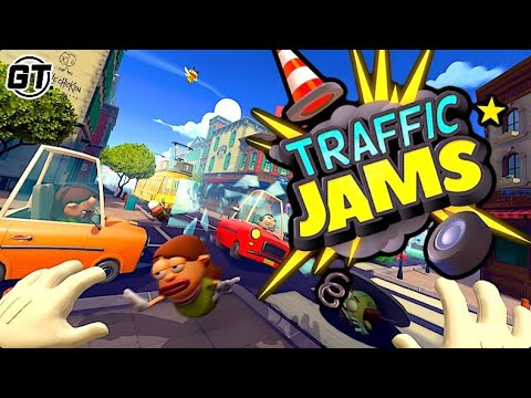 Traffic Jams Early Access Gameplay: Coming to PCVR, Oculus Quest & PSVR