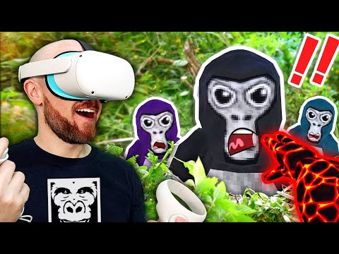 Gorilla Tag On Oculus Quest Is Free & HILARIOUS