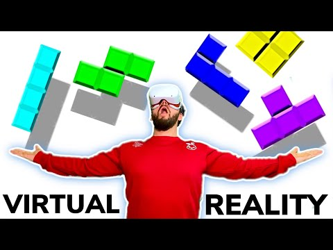 VR HAND TRACKING PUZZLER - Cubism Updated Gameplay on Oculus Quest 2