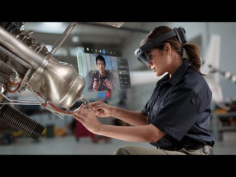 HoloLens 2 Reveal Demo – Hand-tracking, Voice Input, and More