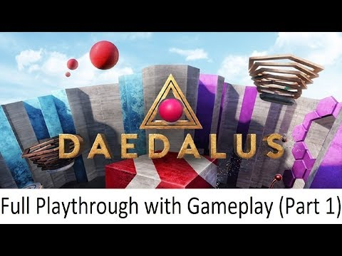 Daedalus - Gameplay Walkthrough (with Commentary) Part 1 - Oculus Go Getters