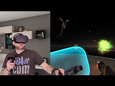 Oculus Quest: Space Pirate Trainer Gameplay