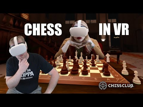 Chess Club - VR Chess game for Oculus Quest with hand tracking