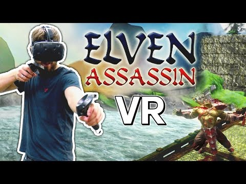 AXE TO THE FACE | Elven Assassin VR