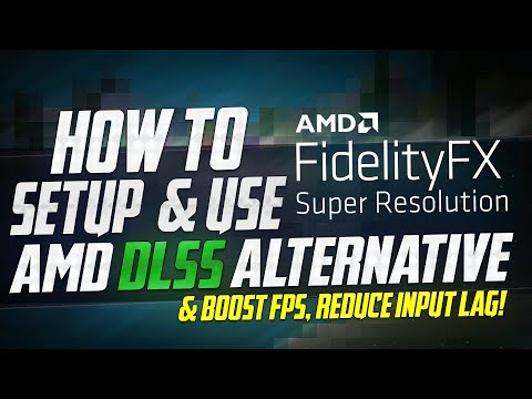 🔧 How To Setup AMD FSR for Best Performance on almost ANY PC *INCREASE FPS UPTO 3X* (AMD DLSS ✅)