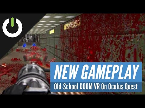 QuestZDOOM: Old-School DOOM VR Gameplay On Oculus Quest! (DOOM, DOOM II, Heretic, And More!)