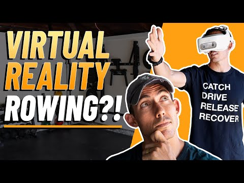 I Tried Virtual Reality Rowing...I Wasn't Expecting THIS