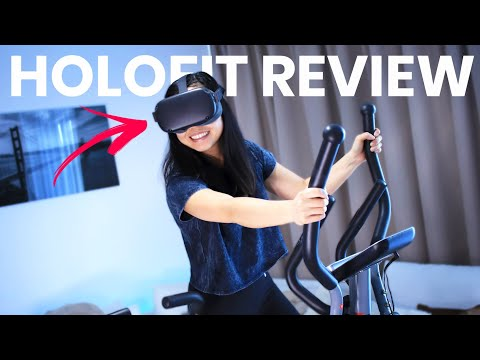 Holofit Review - VR Workout App For Multiple Fitness Machines!!