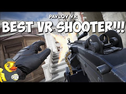 The Best VR Shooter!!! - Pavlov VR