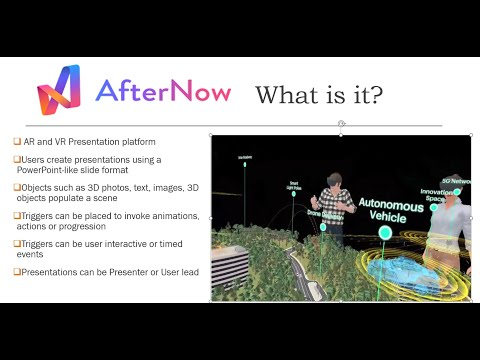 AfterNow Prez - Remote Training and Presentations