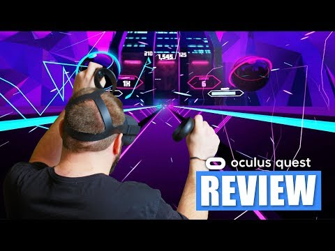TECHNO DANCING IN VR | Synth Riders VR Oculus Quest Review