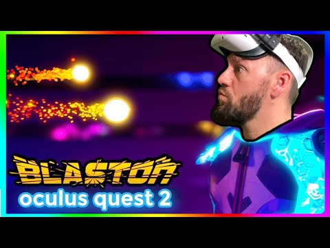 Blaston Multiplayer Gameplay on Oculus Quest 2