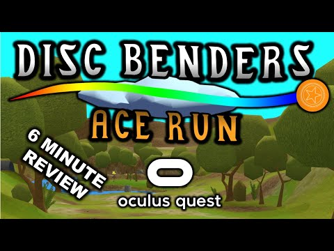 Disc Benders: Ace Run Review. VR Disc Golf for the Oculus Quest available now from SideQuest.