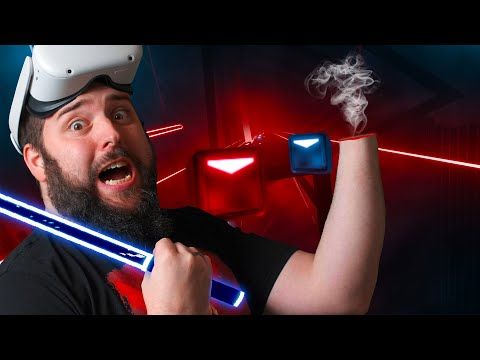 I SUCK At Beat Saber Multiplayer On The Oculus Quest 2...No It's True I'm REALLY Bad