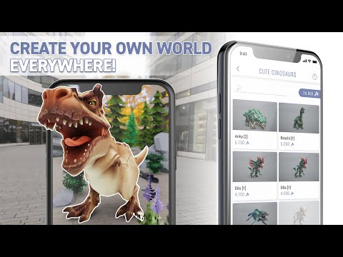AR.fx | Create your own worlds with Augmented Reality