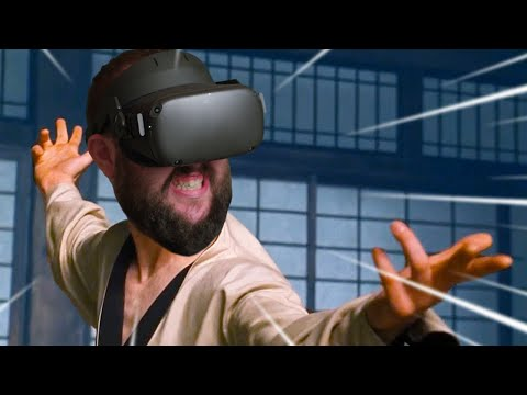 Oculus Quest Crazy Kung Fu Gameplay | Become A Kung Fu Master!