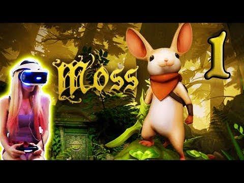 💜I try 💜 Moss PSVR Gameplay Part 1 (PS4) VR