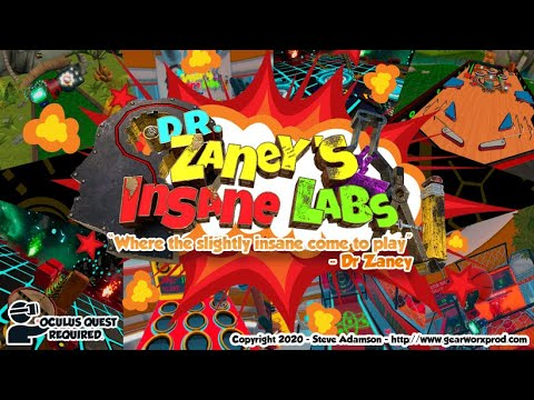 Dr. Zaney's Insane Labs - Release Trailer