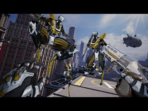 Robo Recall: Unplugged - 6 Minutes Of Oculus Quest Gameplay