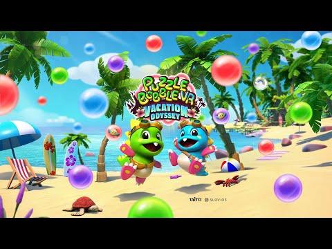 Puzzle Bobble VR: Vacation Odyssey - Launch Announcement Trailer   Oculus Quest Platform