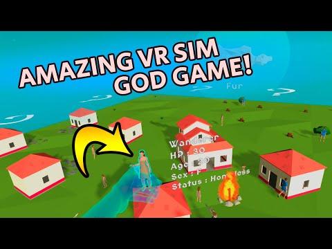 Deisim Best VR God Sim Game for Oculus Quest 2 (App Lab)