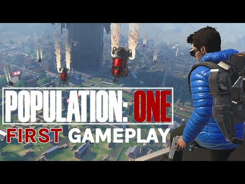Population: ONE VR Battle Royale Oculus Quest 2 Gameplay