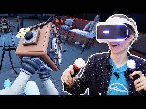 WEIRDEST PSVR PUZZLE GAME EVER!   Statik (Playstation VR Gameplay)