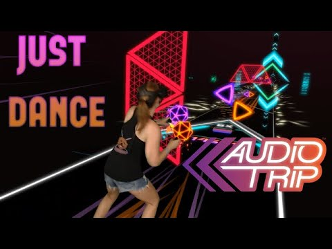 Audio Trip VR || Just Dance by Lady Gaga || Mixed Reality