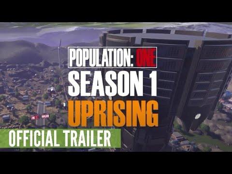 Population: One - Season 1: Uprising Trailer