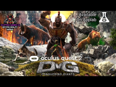 DvG:Conquering Giants VR Demo | AppLab | Gameplay | Oculus Quest 2