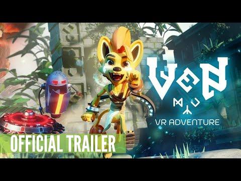 Ven VR Adventure - Oculus Quest Gameplay Trailer (Monologic Games)