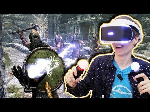 SKYRIM IN VIRTUAL REALITY!   Skyrim VR: Elder Scrolls V (PSVR Gameplay Review)