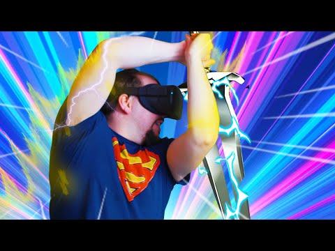 Ironlights VR Oculus Quest Gameplay   AMAZING VR Sword Combat!