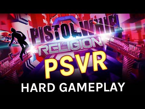 Pistol Whip PSVR Gameplay: Religion (Hard)