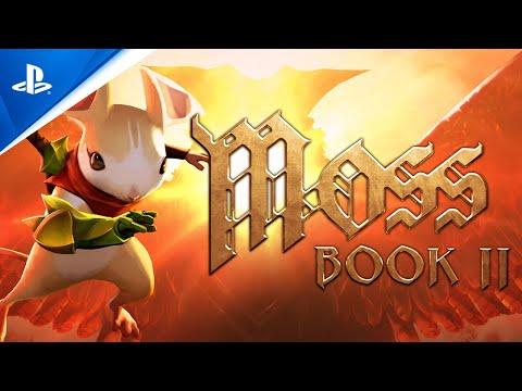 Moss: Book II - Announce Trailer   PS VR