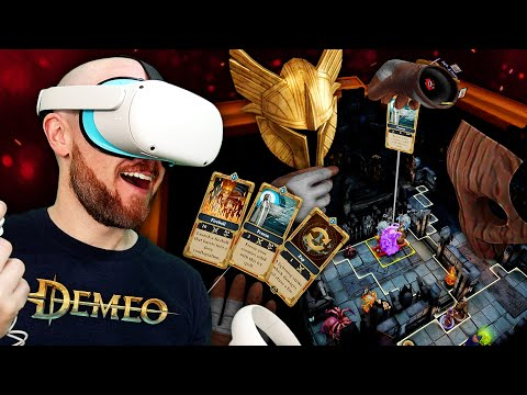 Demeo Is A VR Tabletop Dungeon Crawler And It's AWESOME