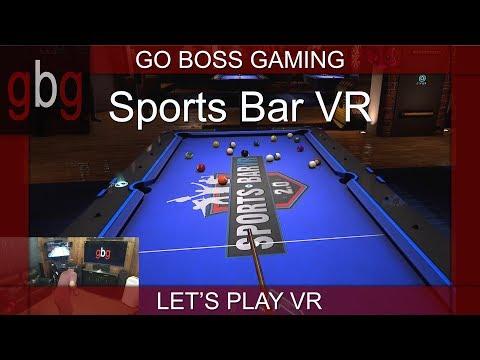 Sports Bar VR: Play Pool, Air Hockey, Darts And More In VR!