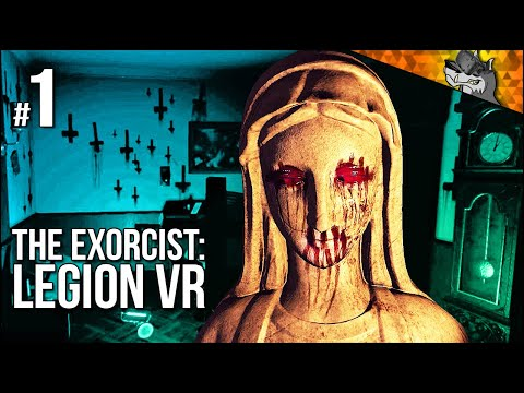 Exorcist: Legion VR | Ch. 1 | My Heart CANNOT Take This (too spoopy)