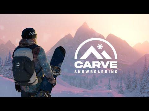 Carve Snowboarding - Announcement Trailer   Oculus Quest