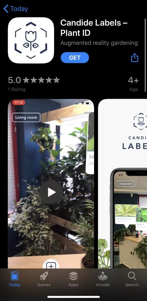candide labels app store listing
