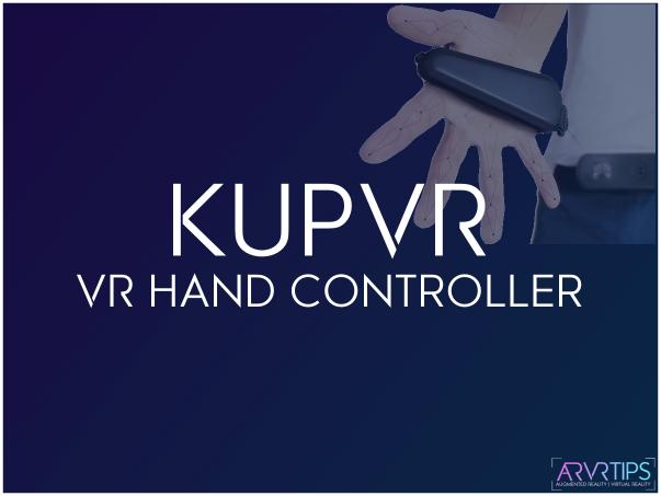 KUPVR VR hand controller