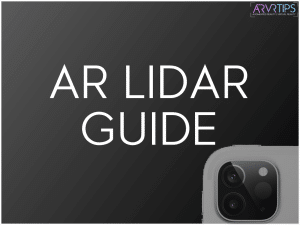 what is lidar? ar lidar guide