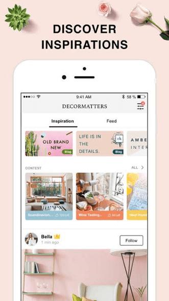 DecorMatters AR interior design