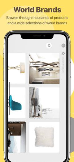 Homestyler AR interior design app